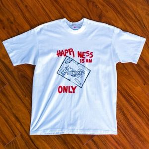 Vintage Happiness is an Exit Visa Only T-Shirt